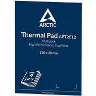 ARCTIC Thermal Pad Basic 120x20x0,5mm (balení 4 kusů) - Podložka pod chladič