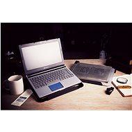 Cooler Master NotePal U2 Plus Notebook Cooler, černá - Chladící podložka