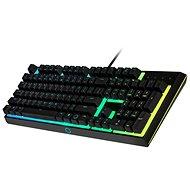 Cooler Master MK110,  RGB LED, černá - CZ - Herní klávesnice