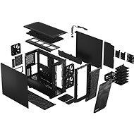 Fractal Design Meshify 2 Black Solid - Počítačová skříň