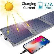 ChoeTech Foldable Solar Charger 14W Black - Solární panel