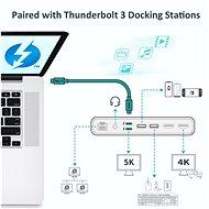 ChoeTech Thunderbolt 3 Passive USB-C Cable 0.8m - Datový kabel