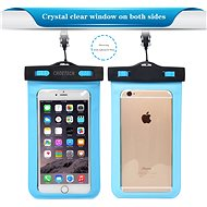 ChoeTech Waterproof Bag for Smartphones Blue - Pouzdro na mobil