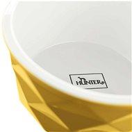Hunter keramická miska Eiby 1900 ml žlutá - Miska pro psy