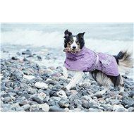 Obleček Hurtta Drizzle coat fialová 65 - Pláštěnka pro psy