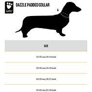 Obojek Hurtta Dazzle 55-65cm kiwi reflexní - Obojek pro psy