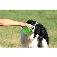 Kiwi Walker Cestovní láhev 2in1, oranžovo zelená, 750 + 500 ml - Cestovní láhev pro psy a kočky