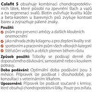 Colafit 5, 100 tobolek - Kloubní výživa pro psy