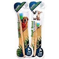 WooBamboo Zubní kartáček z bambusu pro střední a velké psy - Zubní kartáček pro psy