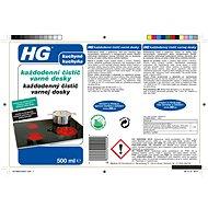 HG Každodenní čistič varné desky 500 ml - Čisticí prostředek