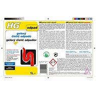 HG gelový čistič odpadů 1000 ml - Čisticí gel