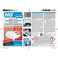 HG Pěnový čistič vodního kamene 3× silnější 500 ml - Čisticí prostředek