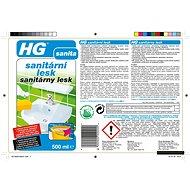 HG Sanitární lesk 500 ml - Čisticí prostředek