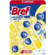 BREF Power Aktiv Lemon 3 x 50 g - WC blok