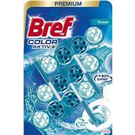 BREF Turquise Aktiv 3 × 50 g - WC blok