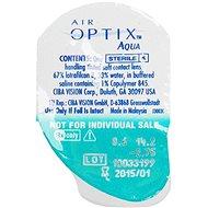 Air Optix Night&Day Aqua (3 čočky) dioptrie: +0.75, zakřivení: 8.4 - Kontaktní čočky