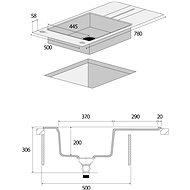CONCEPT DG10N50dg - Granitový dřez