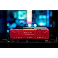 Crucial 32GB KIT DDR4 3200MHz CL16 Ballistix Red - Operační paměť