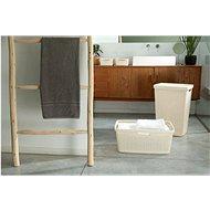 Curver Koš na špinavé prádlo Jute - béžová  - Koš na prádlo