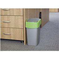 Curver odpadkový koš Flipbin 10L zelený - Odpadkový koš