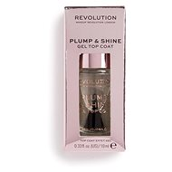REVOLUTION Plump & Shine Gel Top Coat 10 ml - Lak na nehty
