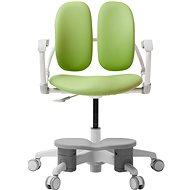 3DE Duorest Milky zelená s podpěrou nohou - Dětská židle