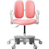 3DE Duorest Milky růžová s podpěrou nohou - Dětská židle