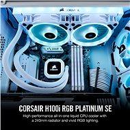 Corsair Hydro Series H100i RGB PLATINUM SE - Vodní chlazení