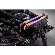 Corsair 64GB KIT DDR4 3200MHz CL16 Vengeance RGB PRO černá - Operační paměť