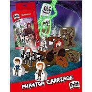 PRITT Crafting kits Loď duchů,Zámek upírů,Dračí kopec,Fantómův vůz/ - Didaktická hračka