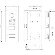 DoorBird D2102V - Videotelefon