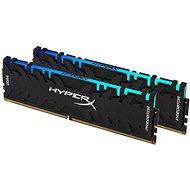HyperX 32GB Kit DDR4 3200MHz CL16 XMP RGB Predator - Operační paměť