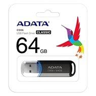 ADATA C906 32GB černý - Flash disk