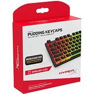 HyperX Pudding Keycaps Full Key Set, black - Náhradní klávesy