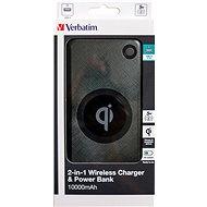 Verbatim 10000mAh Wireless Charger, černá - Powerbanka