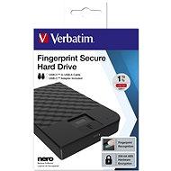 VERBATIM Fingerprint Secure HDD GEN2 1TB - Externí disk