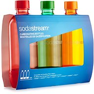 SodaStream TriPack 1l ORANGE/RED/GREEN - Náhradní láhev