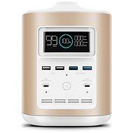 EcoFlow RIVER370 Portable Power Station Gold + Element Proof Protective Case - Nabíjecí stanice