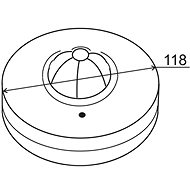 Elektrobock LX28B - Pohybové čidlo