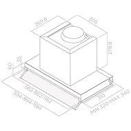 ELICA BOX IN PLUS IXGL/A/120 - Digestoř