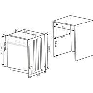 KLUGE KVD6011X - Vestavná myčka