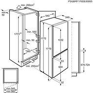 ELECTROLUX LNT3LF18S - Vestavná lednice