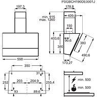 ELECTROLUX 700 SENSE Hob2Hood LFV616K - Digestoř