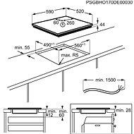 ELECTROLUX 800 SENSE SenseFry EIS6448 - Varná deska