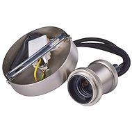 EMOS Závěsná objímka na žárovku E27, nikl - Stropní světlo