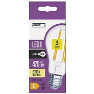 EMOS LED žárovka Filament A60 4W E27 teplá bílá - LED žárovka