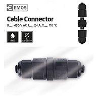 EMOS Plastová kabelová spojka IP68 - Spojka