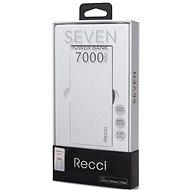 Epico RECCI 7000mAh bílá - Powerbanka