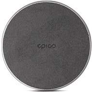 Epico Wireless Charger 10W/7.5W/5W - černá (s adaptérem) - Bezdrátová nabíječka