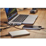 Epico USB Type-C HUB PRO - silver - Replikátor portů